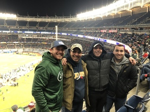 Al attended 2018 Pinstripe Bowl on Dec 27th 2018 via VetTix