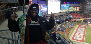 Freed attended 2018 Pinstripe Bowl on Dec 27th 2018 via VetTix