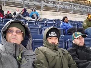 JOSEPH attended 2018 Pinstripe Bowl on Dec 27th 2018 via VetTix