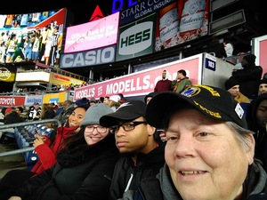 Leigh attended 2018 Pinstripe Bowl on Dec 27th 2018 via VetTix
