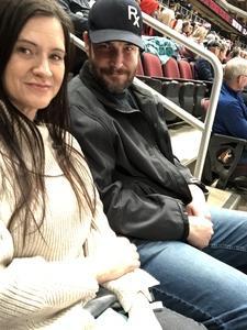 Tina attended Arizona Coyotes vs. New York Islanders - NHL on Dec 18th 2018 via VetTix