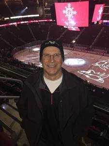 Mark attended Arizona Coyotes vs. New York Islanders - NHL on Dec 18th 2018 via VetTix