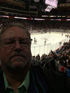 James attended Arizona Coyotes vs. New York Islanders - NHL on Dec 18th 2018 via VetTix