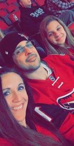 Andrew attended Arizona Coyotes vs. New York Islanders - NHL on Dec 18th 2018 via VetTix