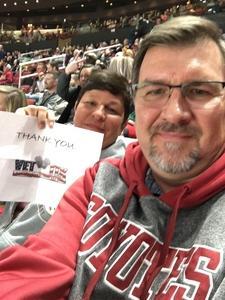 DENIS attended Arizona Coyotes vs. New York Islanders - NHL on Dec 18th 2018 via VetTix