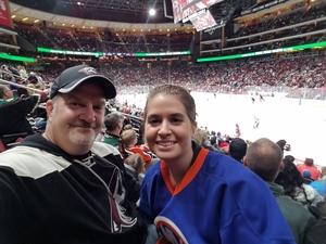 Brian attended Arizona Coyotes vs. New York Islanders - NHL on Dec 18th 2018 via VetTix