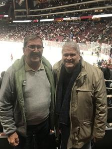 Timothy attended Arizona Coyotes vs. New York Islanders - NHL on Dec 18th 2018 via VetTix