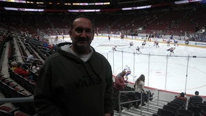 David attended Arizona Coyotes vs. New York Islanders - NHL on Dec 18th 2018 via VetTix