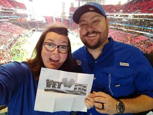 Click To Read More Feedback from 2018 Chick-fil-a Peach Bowl - Florida Gators vs. Michigan Wolverines - NCAA Football