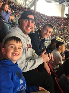 Joshua attended 2018 Chick-fil-a Peach Bowl - Florida Gators vs. Michigan Wolverines - NCAA Football on Dec 29th 2018 via VetTix