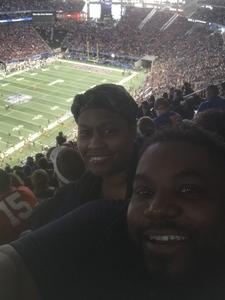 Kevin attended 2018 Chick-fil-a Peach Bowl - Florida Gators vs. Michigan Wolverines - NCAA Football on Dec 29th 2018 via VetTix