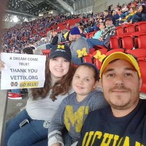 Darrell attended 2018 Chick-fil-a Peach Bowl - Florida Gators vs. Michigan Wolverines - NCAA Football on Dec 29th 2018 via VetTix
