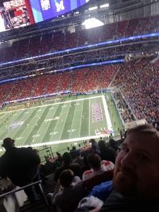 Shannon attended 2018 Chick-fil-a Peach Bowl - Florida Gators vs. Michigan Wolverines - NCAA Football on Dec 29th 2018 via VetTix