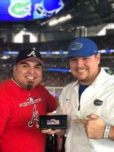 Joseph attended 2018 Chick-fil-a Peach Bowl - Florida Gators vs. Michigan Wolverines - NCAA Football on Dec 29th 2018 via VetTix