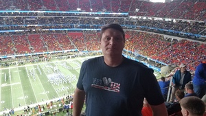 Phillip attended 2018 Chick-fil-a Peach Bowl - Florida Gators vs. Michigan Wolverines - NCAA Football on Dec 29th 2018 via VetTix