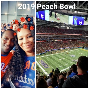 Kevin W. attended 2018 Chick-fil-a Peach Bowl - Florida Gators vs. Michigan Wolverines - NCAA Football on Dec 29th 2018 via VetTix