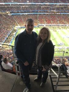 Daniel attended 2018 Chick-fil-a Peach Bowl - Florida Gators vs. Michigan Wolverines - NCAA Football on Dec 29th 2018 via VetTix
