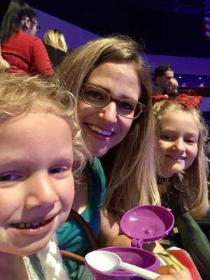 David attended Disney on Ice Presents Frozen! on May 8th 2019 via VetTix