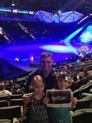 Jonathan attended Disney on Ice Presents Frozen! on May 8th 2019 via VetTix