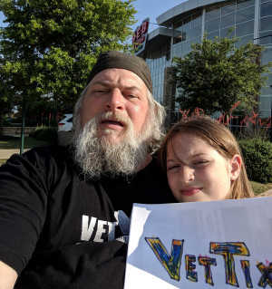 Bam attended Disney on Ice Presents Frozen! on May 8th 2019 via VetTix