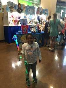 Tasha attended Disney on Ice Presents Frozen! on May 8th 2019 via VetTix
