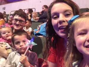 The Suggs Family attended Disney on Ice Presents Frozen! on May 8th 2019 via VetTix