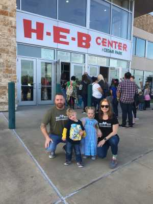 Wesley attended Disney on Ice Presents Frozen! on May 8th 2019 via VetTix