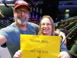 Carla attended Disney on Ice Presents Frozen! on May 8th 2019 via VetTix