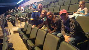 Tommy attended Disney on Ice Presents Frozen! on May 8th 2019 via VetTix