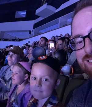 Nathaniel attended Disney on Ice Presents Frozen! on May 8th 2019 via VetTix