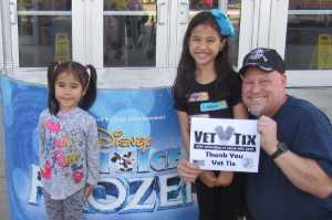 Michael attended Disney on Ice Presents Frozen! on May 8th 2019 via VetTix