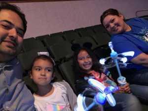 Francisco Gonzalez attended Disney on Ice Presents Frozen! on May 8th 2019 via VetTix