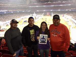 carlos attended Monster Energy Supercross on Mar 30th 2019 via VetTix