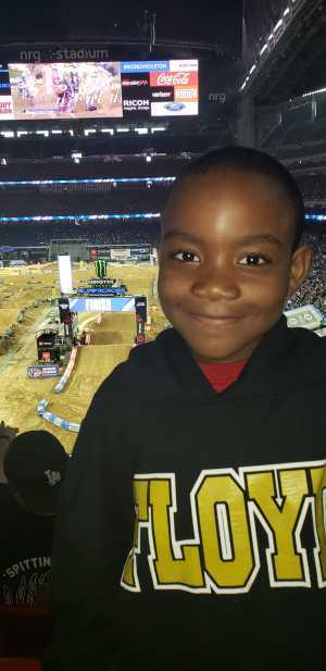 orundra attended Monster Energy Supercross on Mar 30th 2019 via VetTix