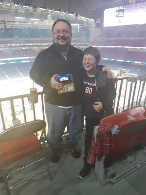 John attended Monster Energy Supercross on Mar 30th 2019 via VetTix