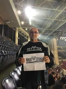 Daniel attended Monster Energy Supercross on Mar 30th 2019 via VetTix
