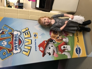Michael attended Paw Patrol Live: Race to the Rescue - Children's Theatre on Feb 2nd 2019 via VetTix