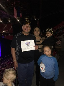 Click To Read More Feedback from Disney on Ice: Dare to Dream