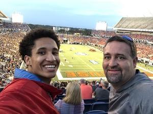Steven attended Camping World Bowl - Syracuse vs. West Virginia on Dec 28th 2018 via VetTix