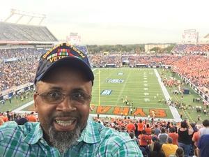 Vaughn attended Camping World Bowl - Syracuse vs. West Virginia on Dec 28th 2018 via VetTix