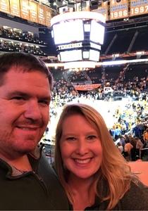 David attended Tennessee Lady Vols vs. Missouri Tigers - NCAA Women's Basketball on Jan 6th 2019 via VetTix