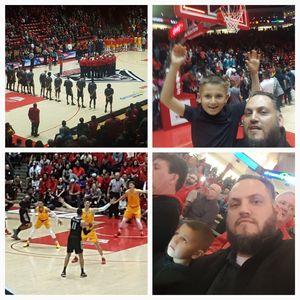 Anthony attended University of New Mexico vs. Nevada - NCAA Men's Basketball on Jan 5th 2019 via VetTix