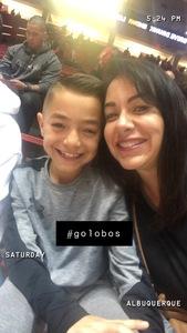 Angela attended University of New Mexico vs. Nevada - NCAA Men's Basketball on Jan 5th 2019 via VetTix