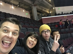 Zachary attended University of Southern California Trojans vs. Colorado Buffaloes - NCAA Men's Basketball on Feb 9th 2019 via VetTix
