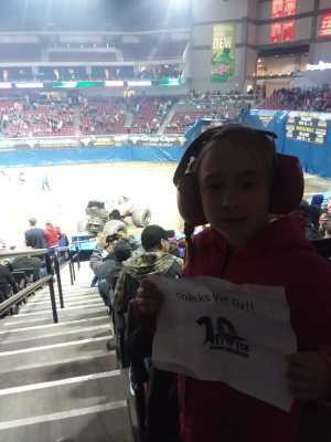 William attended Monster Jam on Mar 29th 2019 via VetTix