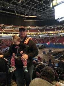 Aaron attended Monster Jam on Mar 29th 2019 via VetTix