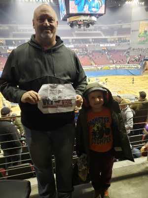 Chad attended Monster Jam on Mar 29th 2019 via VetTix