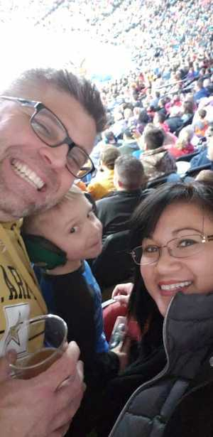 Daniel attended Monster Jam on Mar 29th 2019 via VetTix