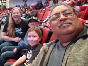 Linda attended Monster Jam on Mar 29th 2019 via VetTix