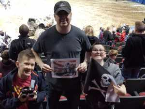 Timothy attended Monster Jam on Mar 29th 2019 via VetTix